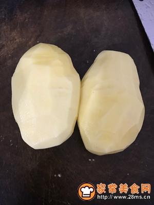 做正宗十分钟炸个薯条的图片步骤1