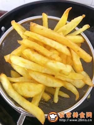 做正宗十分钟炸个薯条的图片步骤9