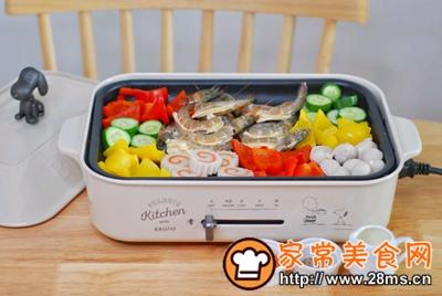 做正宗五彩缤纷时蔬海鲜拼盘的图片步骤7