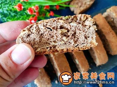 做正宗减脂可可燕麦意式脆饼的图片步骤6