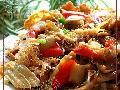 腐竹花蛤炒粉丝