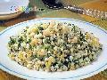 翡翠滑菇蛋炒饭