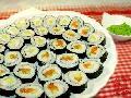 初次学做寿司
