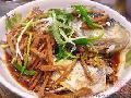 头菜蒸仙骨鱼
