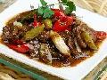 酸椒炒肝片