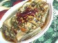 剁椒蒸茄瓜