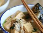 酱焖鲫鱼豆腐