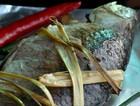 香茅草烤鲫鱼
