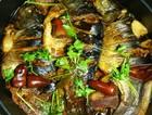 农家侉炖咸菜鲫鱼