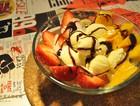 自制水果冰淇淋