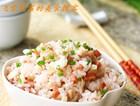火腿杏鲍菇焖饭