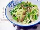 榨菜青椒土豆丝