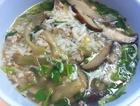 香菇榨菜肉末汤饭