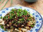 木姜菜拌豌豆凉粉