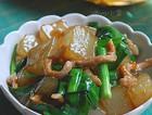 韭菜煎凉粉