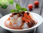 川辣香菇酱拌凉粉