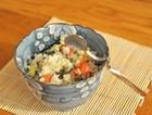 电饭锅蔬菜蒸饭
