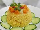 山西南瓜小米捞饭汤