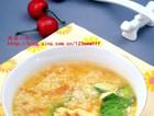 小米粒疙瘩汤