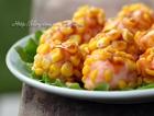 玉米鲜虾球