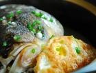 花雕煮荷包蛋鱼头汤