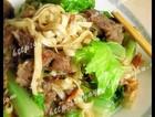 沙茶牛肉炒面