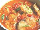 番茄炖鲅鱼(马鲛鱼)