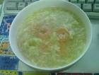 卷心菜虾球蛋花汤