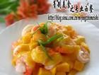 芒果大虾沙拉