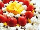 草莓芒果奶油蛋糕