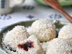椰丝糯米团子