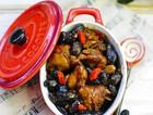 黑豆焖高原鸡