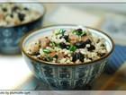 叉烧黑豆糙米炒饭