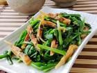 蛏干炒韭菜