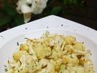 柠檬蒜香烤菜花