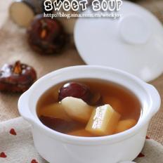 甘蔗马蹄甜汤