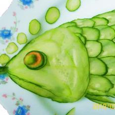 糖醋黄花发财鱼