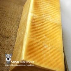 DIY蛋黄大吐司