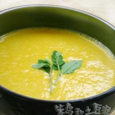 南瓜豆浆汁