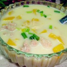 豆浆南瓜鲜百合汤