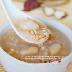 菱角薏仁粥