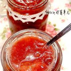 桂花草莓酱