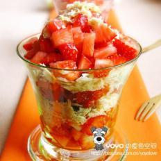 草莓牛舌酥