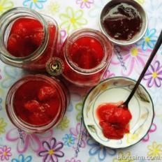 蜂蜜草莓酱