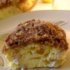 肉桂苹果奶酪蛋糕