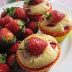 草莓酸奶玛芬