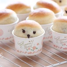 蜜小豆甜面包