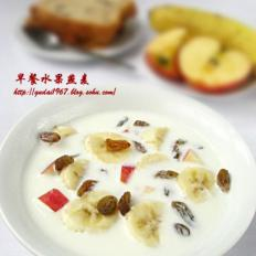 早餐水果燕麦