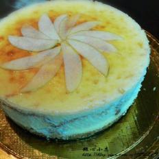 苹果芝士蛋糕