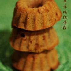 焦糖苹果核桃蛋糕